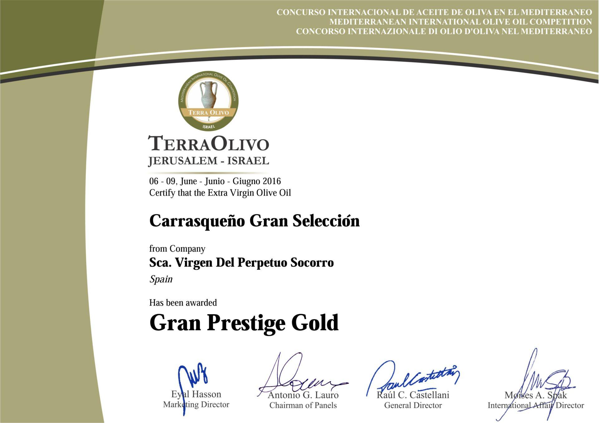 gran prestige gold