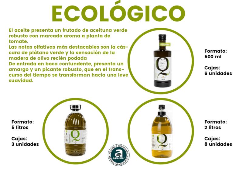 AOVE Carrasqueño BIO – Aceite de Oliva Virgen Extra Ecológico