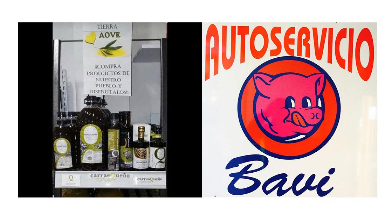 AOVE Carrasqueño disponible en Alimentación BAVI (Alcaudete)