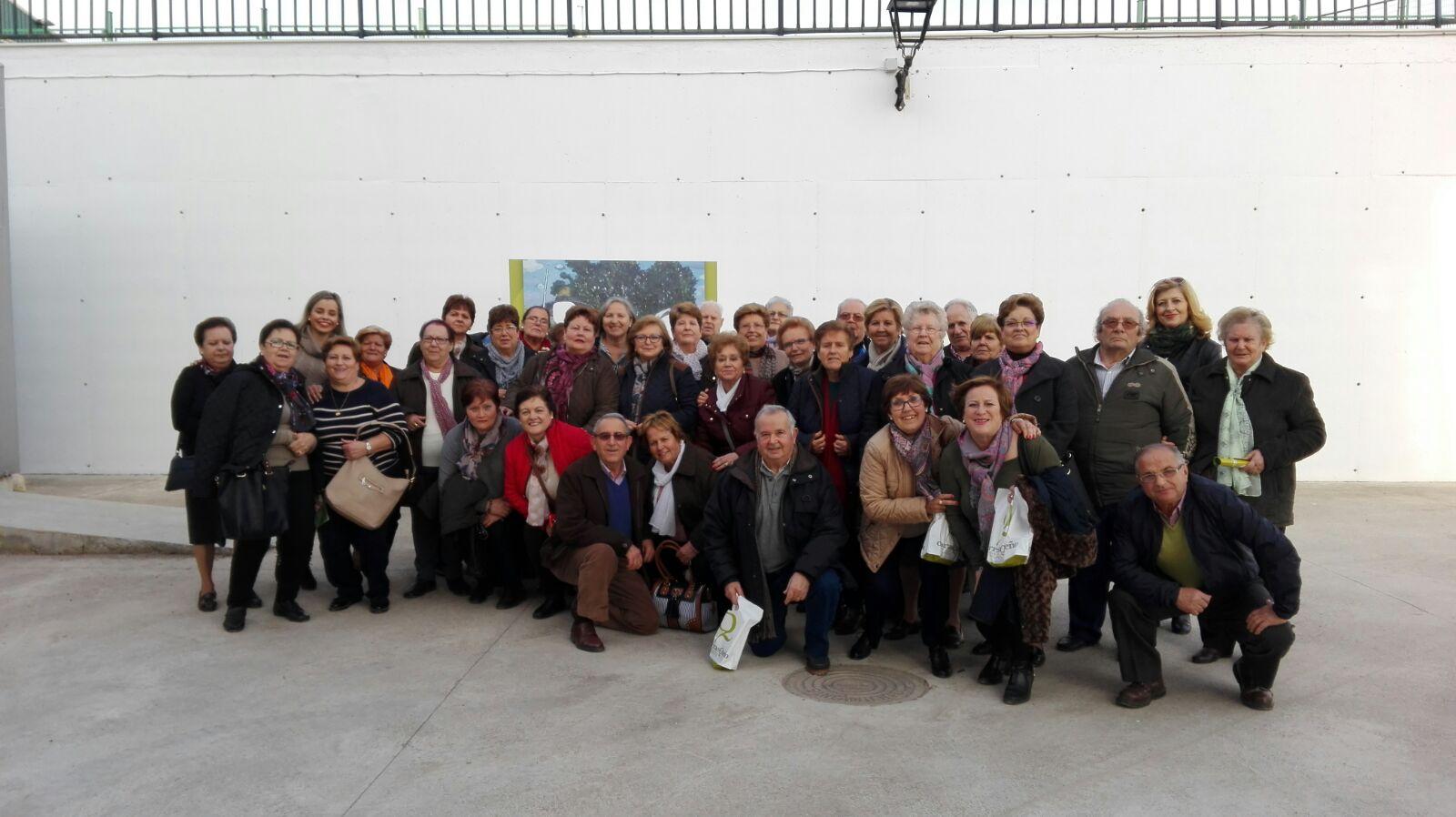 Hoy nos visitan de Bujalance, muchas gracias por vuestro interés en nuestra almazara. #aove #oleotour