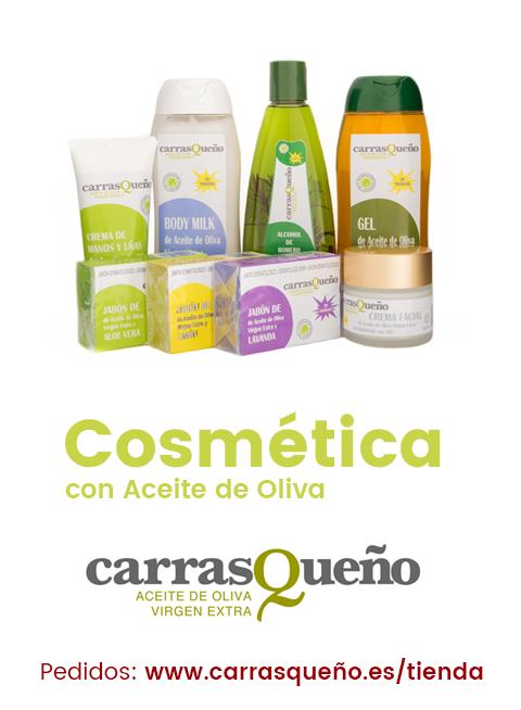 Nuevos productos de Cosmética con Aceite de Oliva Carrasqueño