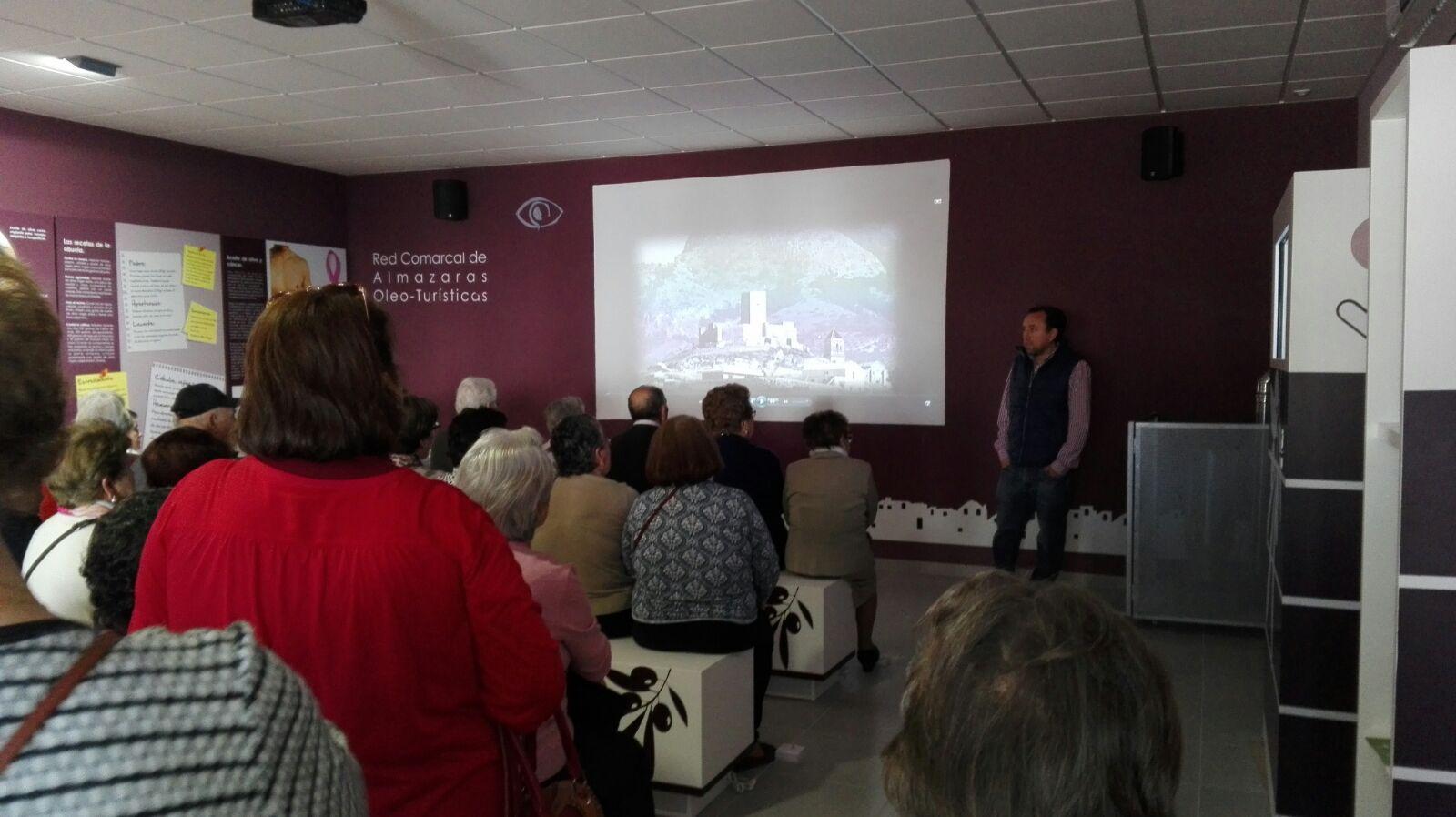 El pasado domingo recibimos una visita a nuestra almazara desde Morón de la Frontera (Sevilla).