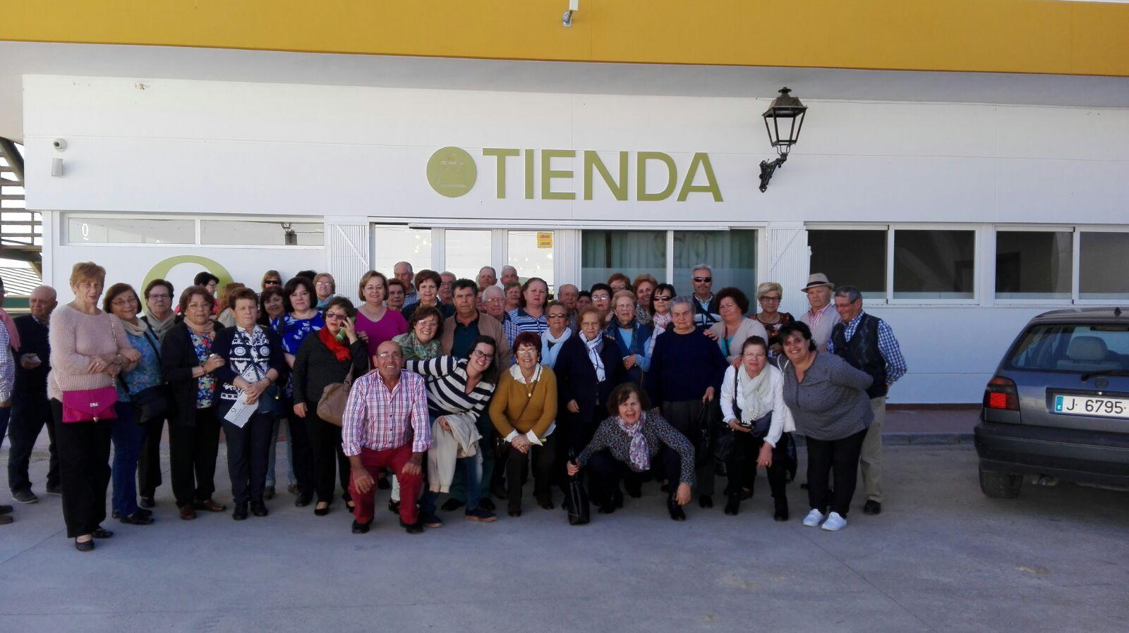 Nueva visita a nuestra almazara desde Torrox (Málaga)