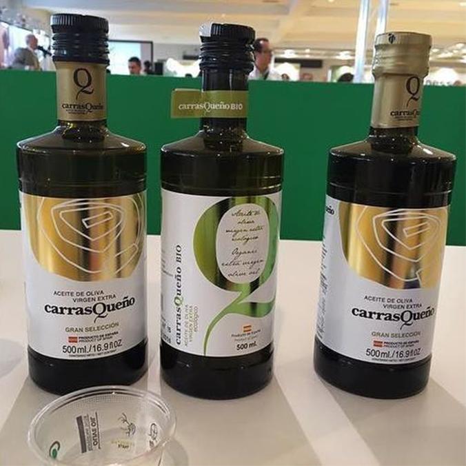 Degusta #AOVE Carrasqueño en #Expoliva2017