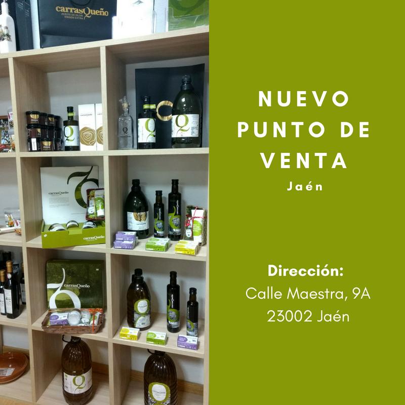 Nuevo punto de venta de AOVE Carrasqueño en OLEOTECA (Jaén)